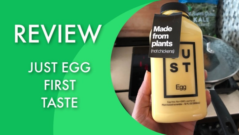 Product Review [first time trying Just Egg]