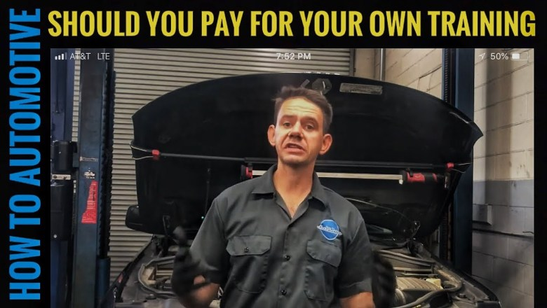 Should Automotive Technician Pay for their Training or Should the Shop