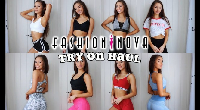 FASHION NOVA TRY-ON HAUL   ACTIVEWEAR REVIEW