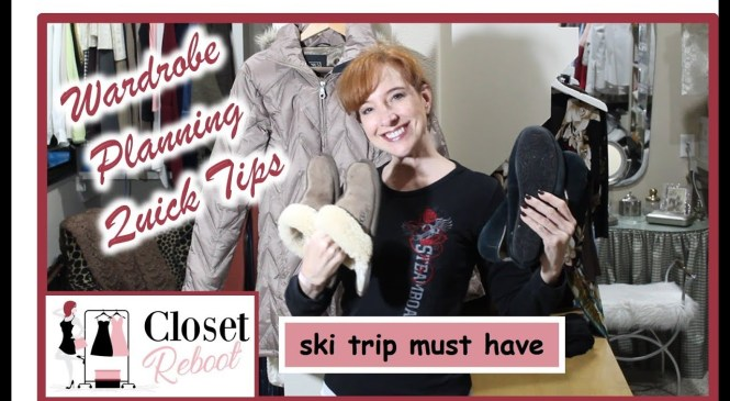 Packing Tip – Ski Trip Must Have | Wardrobe Planning Quick Tips