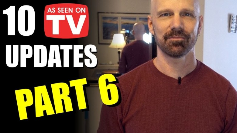 10 As Seen on TV Product Review Updates, Part 6