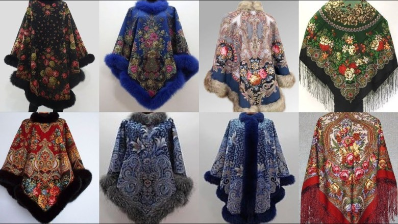 Top 50 Wearable Poncho Designs Top Fashion Trend 2019-2020