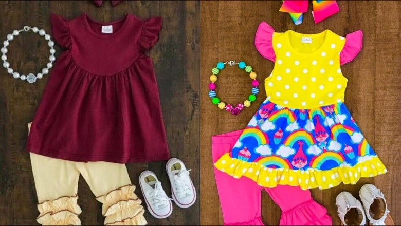 Top Baby Frock Styling Fashion Trend-2019