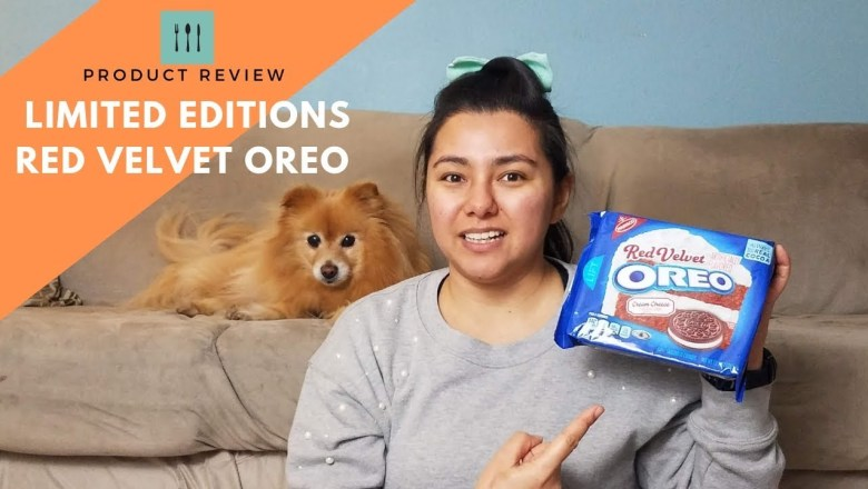 Product Review on LIMITED EDITION Red Velvet Oreos | on Love Day | Just8Ate