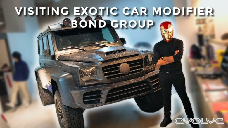 Visiting Exotic & Luxury Car Modifier Bond Group in Japan