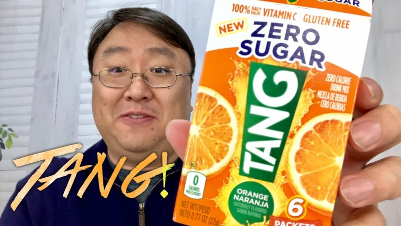 Tang On The Go! Drink Mix Packets Review