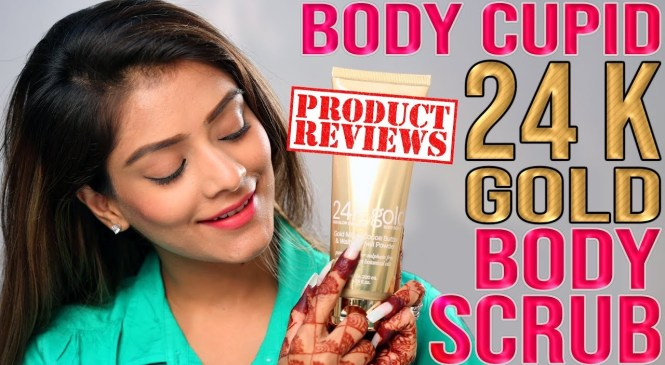 Body Cupid 24k Gold Body Scrub Product Review | Product Review Tutorial | Foxy Makeup Tutorial