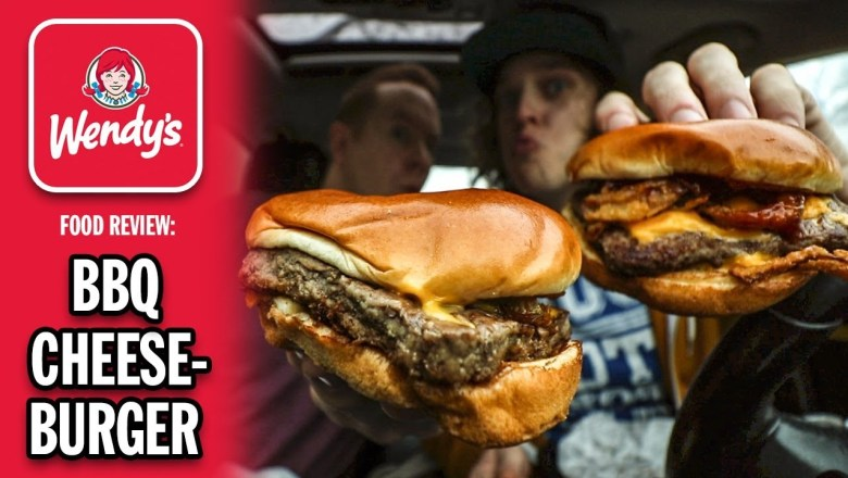 Wendy's BBQ Cheeseburger Food Review | *Their BEST New Burger Ever?!*