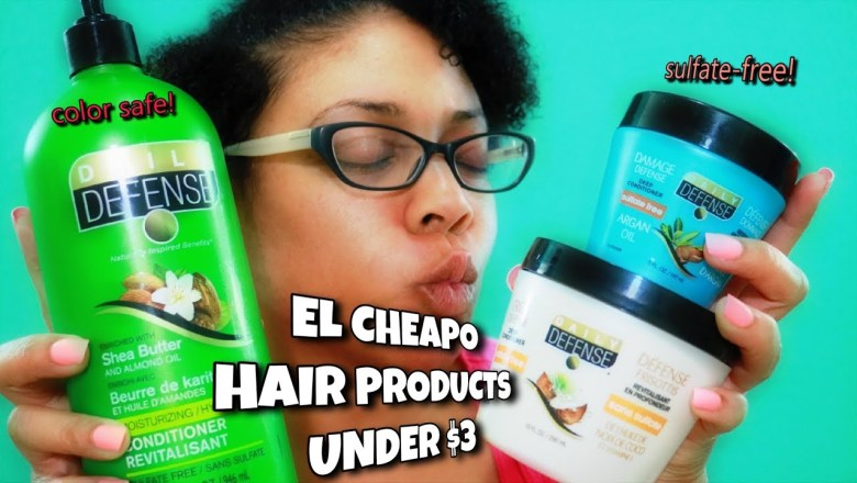 ⭐Product Review | Daily Defense |CHEAP Hair Products Under $3!