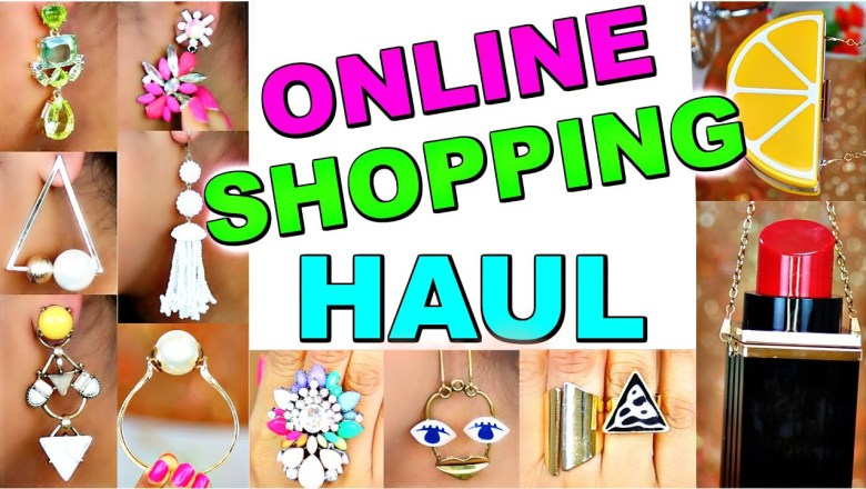BIG Online Shopping Haul | Trendy Fashion Jewelry Handbags | ShrutiArjunAnand