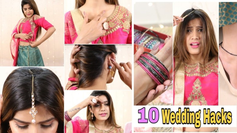 #शादी Ready 10 Life Saving WEDDING HACKS You Must Try | Super Style Tips