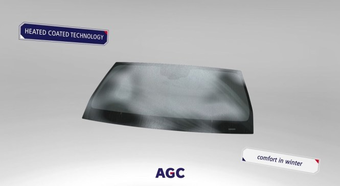 AGC Automotive multifunctional windshields: the road ahead is clear!