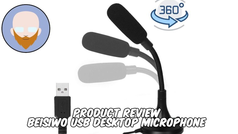 Product Review – Beisiwo USB Desktop Microphone – $16 USB Microphone??