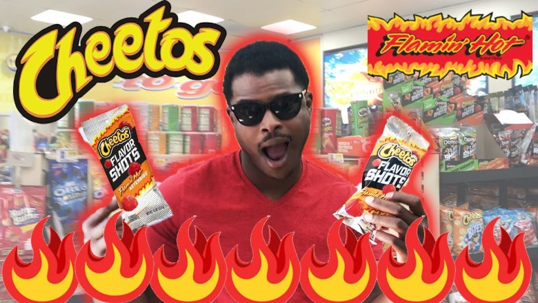 Cheetos Flavored Shot Flaming Hot Asteroids Are Back!!  | Food Review