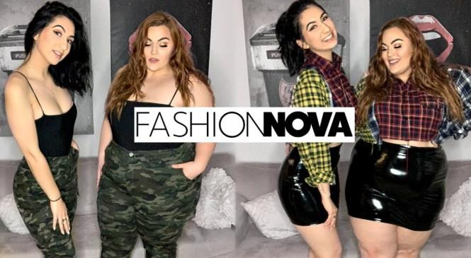 Size 4 & Size 18 Try On Fashion Nova Outfits | Fashion Nova Haul & Try On