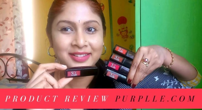 Product Review from Purpelle.com | Stay Quirky liquid matte Lipsticks | Kannada vlogs