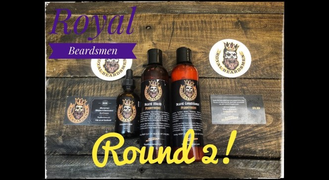 Royal Beardsmen Beard Product Review – Round 2!!! {Beard Oil and Beard Wash/Conditioner}