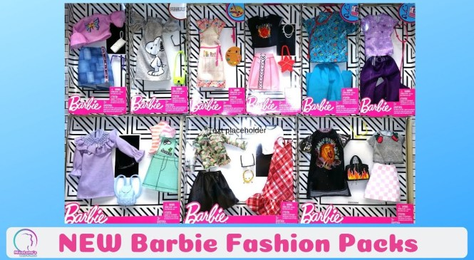 New Barbie | Fashion Packs | Accessories | Accesorios de Barbie 