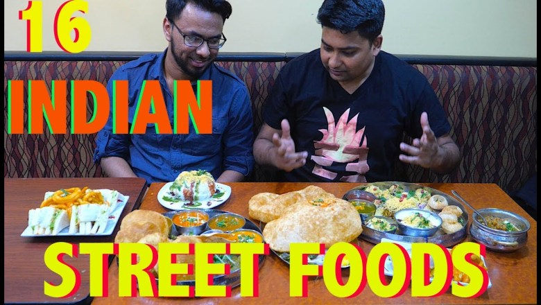 16 Indian Street Foods in America l Sheikh Akbar l Food Review l EmonEats