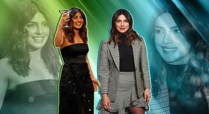 Priyanka Chopra's style quotient at NYFW 2019 and The Late Late Show is inspiring