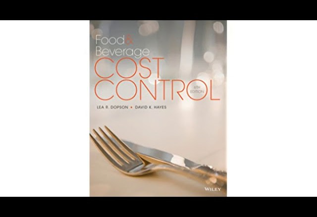 Must See Review! Food and Beverage Cost Control