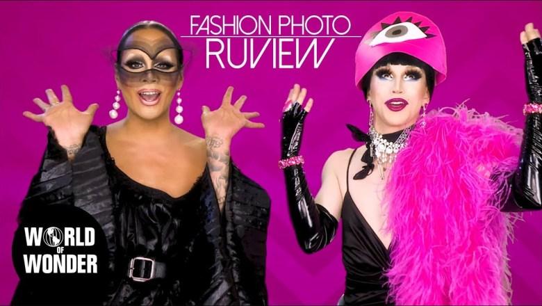FASHION PHOTO RUVIEW: Drag Race Season 11 Episode 1 with Raja and Aquaria!