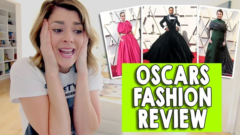 OSCARS FASHION REVIEW 2019 // Grace Helbig