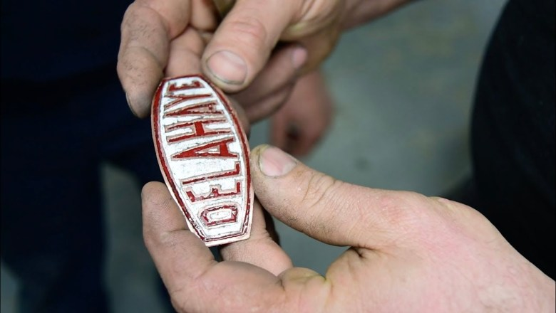 Making A Enamel Automotive Badge From Scratch For A Delahaye