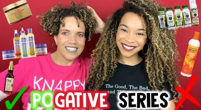 #5 POGATIVE SERIES | Natural Hair Products Review | CURLS, Mane Choice, Maui Moisture, Cantu & More
