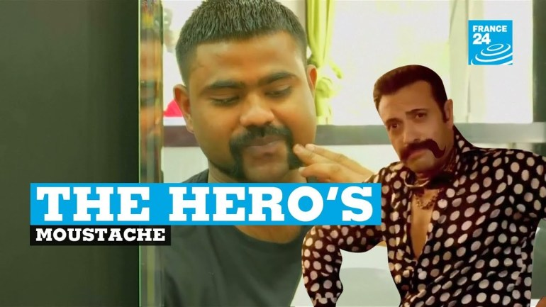 The hero's moustache: Indian pilot's moustache sparks fashion trend