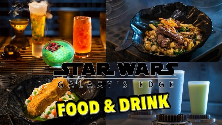 Star Wars Galaxy's Edge Food & Drink Preview!