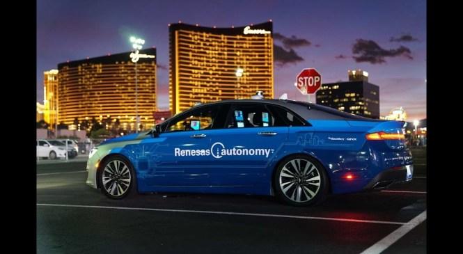 Renesas Automotive @ CES 2018 Highlights