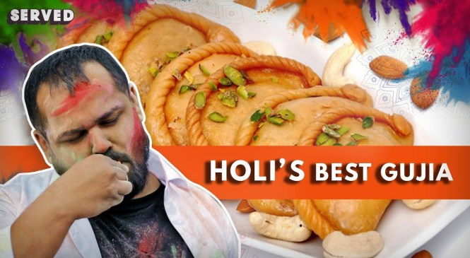 Best Gujiya And Thandai For Holi | Happy Holi 2019 | Delhi Food Reviews