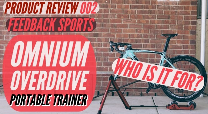 Feedback Sports Omnium Portable Trainer PRODUCT REVIEW | Best Cycling Trainer Roller