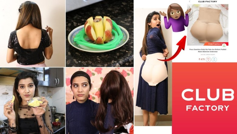 WTF!! Club Factory Haul   Weird Item Tested   Kitchen+Home+ Beauty   Super Style Tips