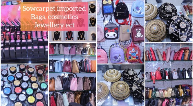 Sowcarpet Imported and Branded Cosmetics,Handbags,Hair Accessories, Fashion Jewellery Etc.