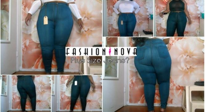 Fashion Nova PLUS SIZE JEANS | Try-On + Review | 3XL