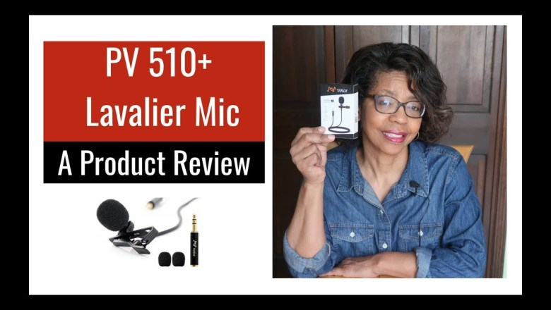 Affordable Lavalier Microphone Pop Voice PV510+ Product Review | Best Lapel Mic Under $15
