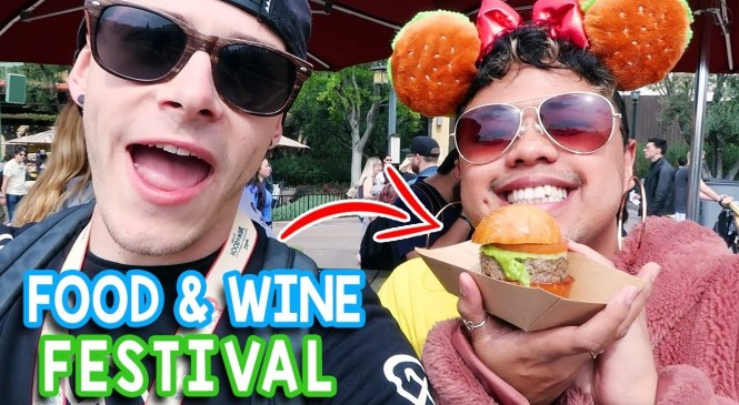Disney California Adventure Food & Wine Festival 2019 | NEW Food Review