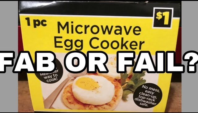 FAB OR FAIL PRODUCT REVIEW | $1 MICROWAVE EGG COOKER