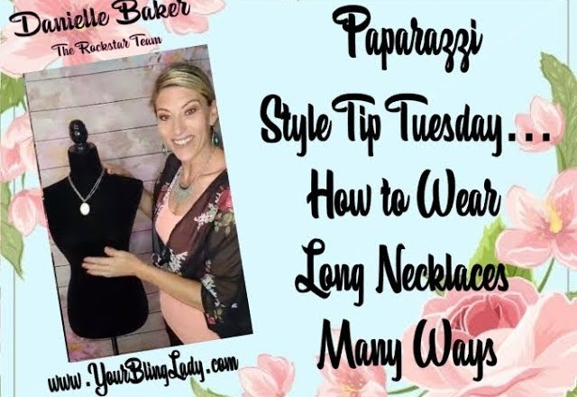 Paparazzi Style Tip Tuesday –  How To Wear Long Necklace Many Ways