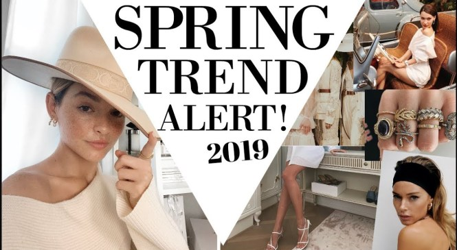 Spring Trend Alert! Whats Trending in Fashion right now!