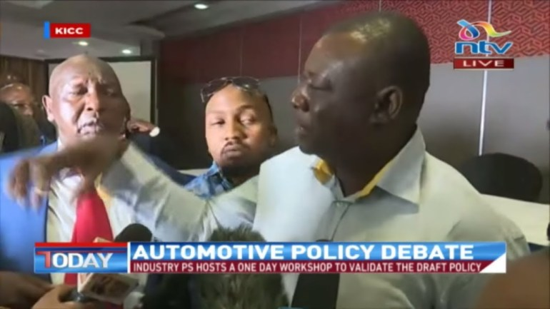Chaos erupts at automotive policy workshop over car importation