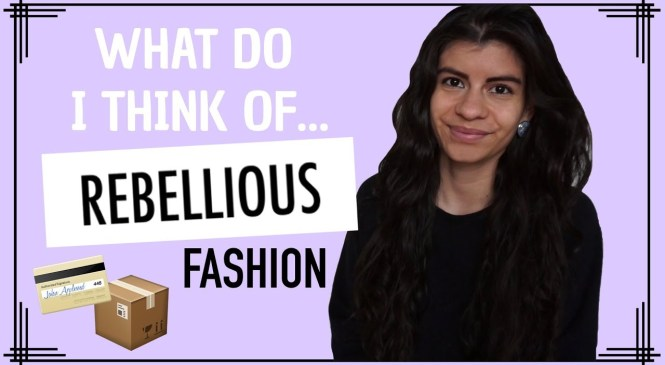 ONLINE STORE REVIEW | REBELLIOUS FASHION