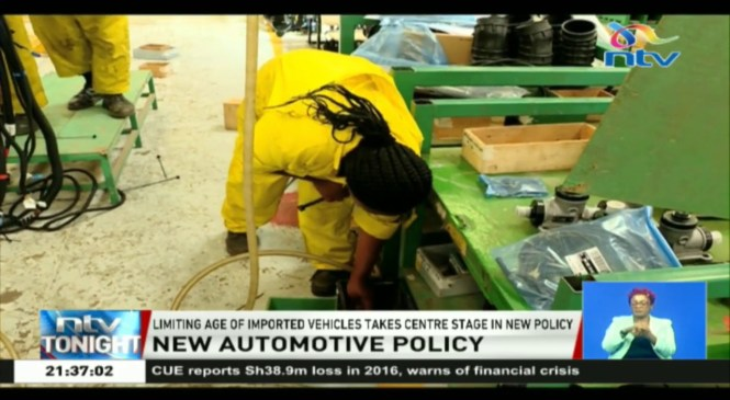 The draft National Automotive Policy to be validated on 12/4/2019