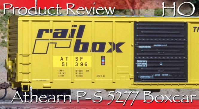 Product Review HO Athearn PS 5277 Boxcar ATSF
