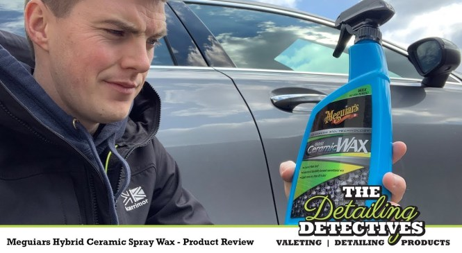Meguiars Hybrid Ceramic Spray Wax – Product Review