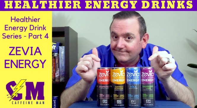 Zevia Energy Drink Product Review; Healthier Energy Drink Series, Keto Friendly