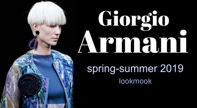 GIORGIO ARMANI spring-summer 2019 / clothes, shoes, accessories