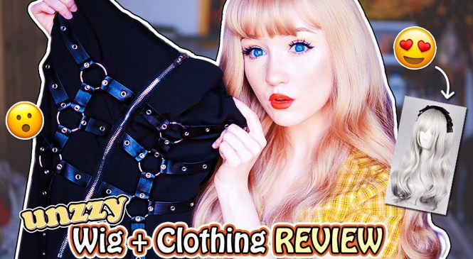 UNZZY TRY-ON HAUL & REVIEW (WIGS + CLOTHING!) | KAWAII/EDGY ONLINE FASHION STORE